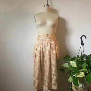 Dresses & Skirts - VINTAGE SILK SKIRT - Fits Size 4 EUC